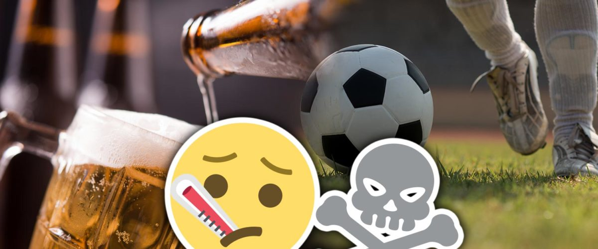 alcohol in football