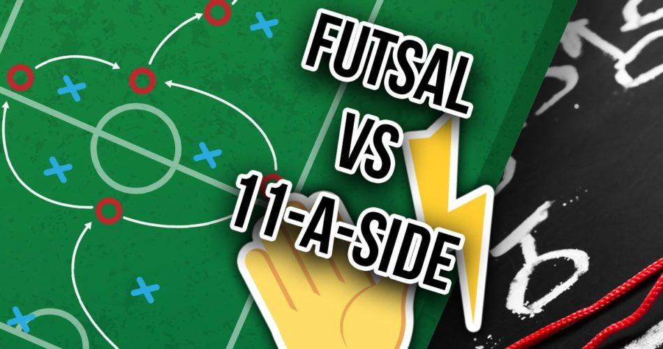Is Futsal Easier Than 11-A Side Football?