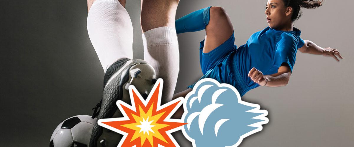 footballers wear long socks